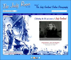 The Judy Room Homepage