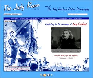 The Judy Room Homepage