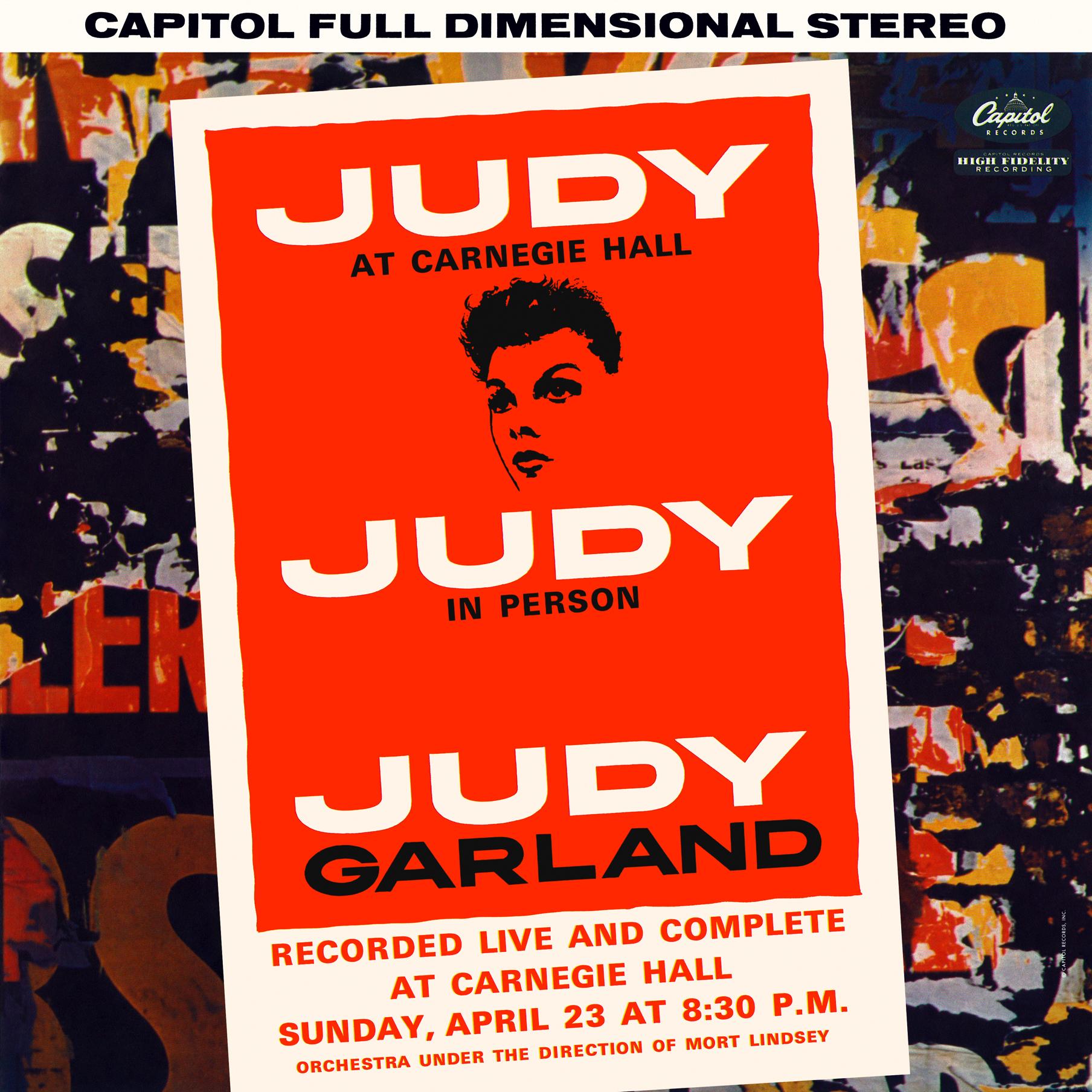 Bbc2 Radio To Air New Judy At Carnegie Hall Documentary