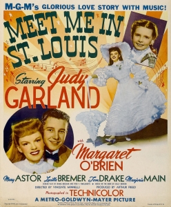 1944 Meet Me in St. Louis Window Card