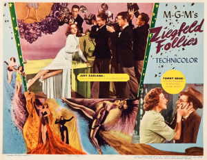 Ziegfeld Follies Lobby Card