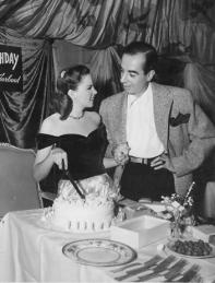 Judy Garland Celebrates her 23rd Birthday