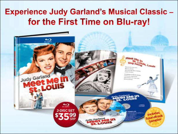 Meet Me In St. Louis Blu-ray