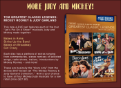 Mickey & Judy on DVD
