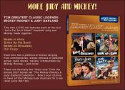 Mickey & Judy on DVD