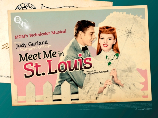 BFI Meet Me In St. Louis Poster