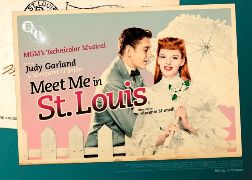 BFI Meet Me In St. Louis Poster