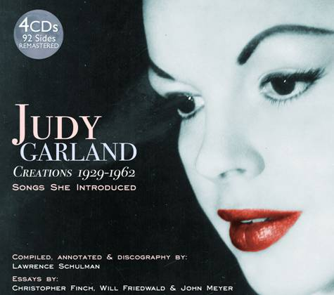 JUDY GARLAND - Creations: Songs She Introduced (4 CD's) (1929-1962