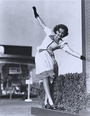 Judy Garland has some fun