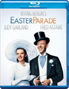 Judy Garland and Fred Astaire in Easter Parade - Blu-ray cover art