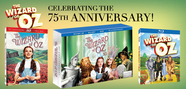 The Wizard of Oz DVD & Blu-ray sets