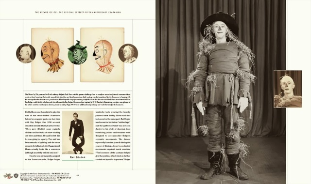 The Wizard of Oz - 75th Anniversary Companion Book example pages