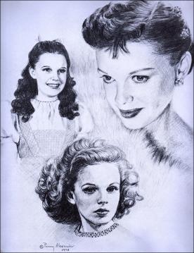Judy Garland by Penny Alexander 1979