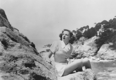 Judy garland in Carmel, California