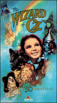 The Wizard of Oz - 50th Anniversary VHS
