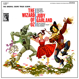 The Wizard of Oz 1960s MGM Records Soundtrack