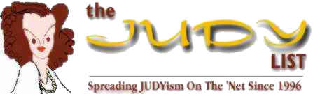 The Judy List Logo