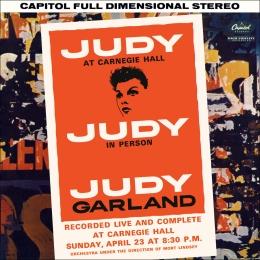 "The original LP version of ""Judy at Carnegie Hall"""