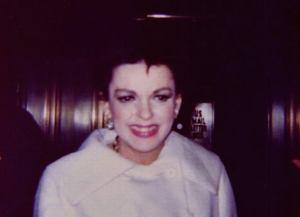 Casual shot of Judy Garland