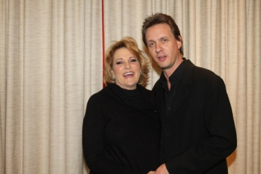 Lorna Luft and Colin Freeman