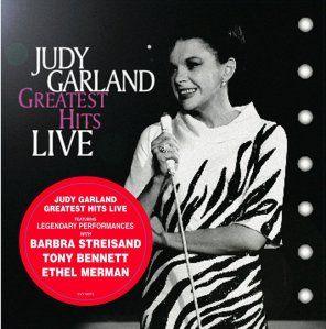 Judy Garland - Greatest Hits LIve on LP