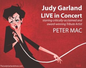 Peter Mac as Judy Garland