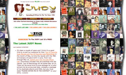 The Judy List