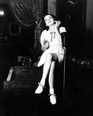 Judy Garland in Chicago 1934