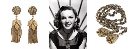 Judy Garland Jewelry Set