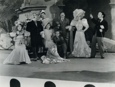 """Judy Garland, Mickey Rooney, June Preisser in """"Strike Up The Band"""" (MGM 1940)"""