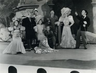 Judy Garland, Mickey Rooney, June Preisser in