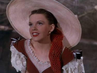 """Judy Garland as """"Manuela"""" in """"The Pirate"""" (1948)"""