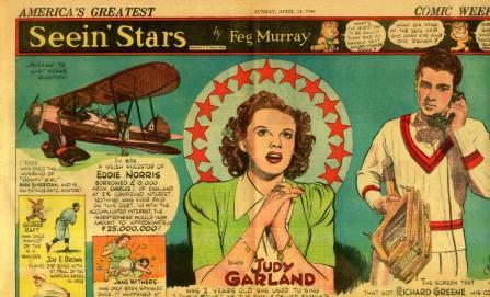 """Seein' Stars"" - April 14, 1940 Judy Garland"