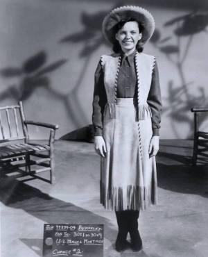 Costume Test - Judy Garland in
