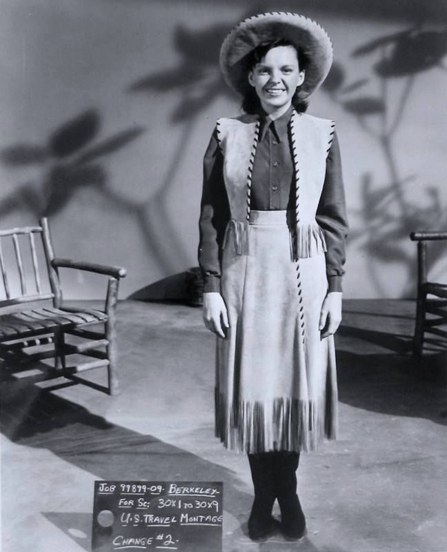 Costume Test - Judy Garland in