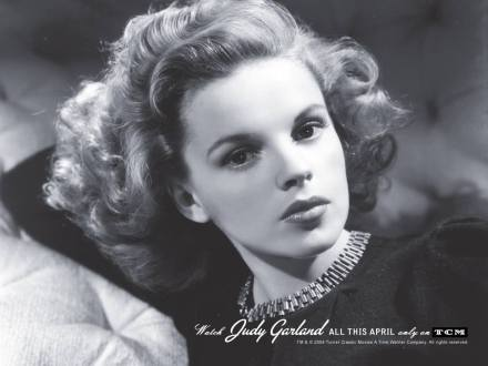 Judy Garland TCM's Star of the Month in April 2004