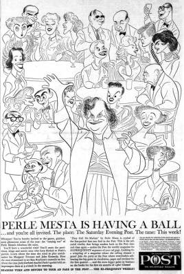 Perle Mesta is having a ball - Judy Garland