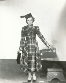 """Judy Garland costume test for """"For Me And My Gal"""" April 11, 1942"""