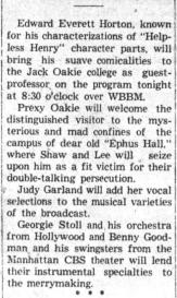 April 13, 1937 RADIO OAKIE SHOW Belvidere_Daily_Republican (IL)