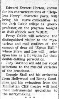 April 13, 1937 RADIO OAKIE SHOW Belvidere_Daily_Republican (IL)