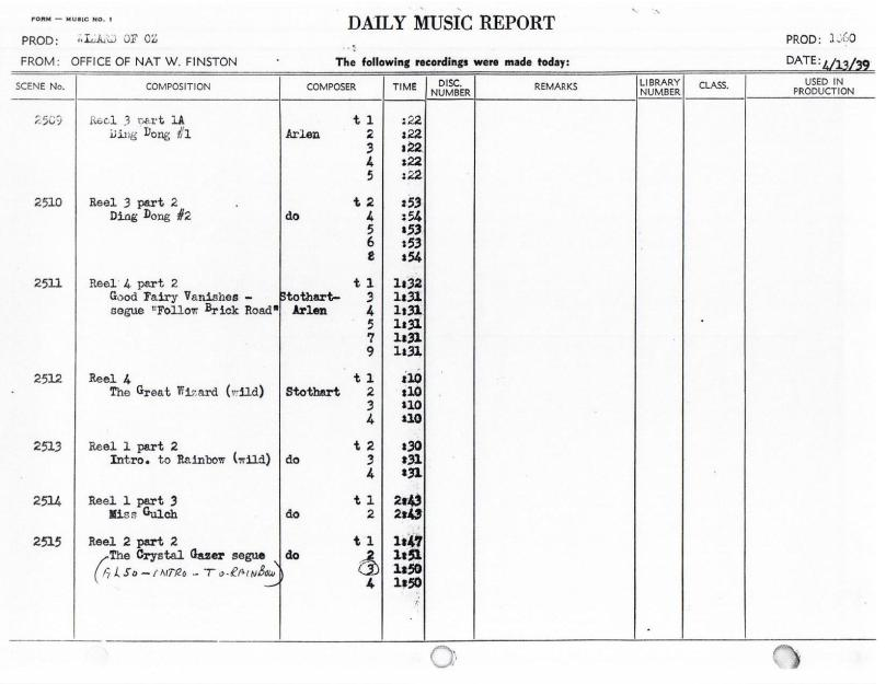April 13, 1939 Intro to Rainbow