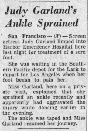 April 14, 1956 SPRAINED ANKLE Press_and_Sun_Bulletin