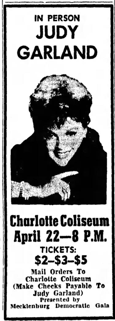 April 17, 1965 (for April 22) CHARLOTTE COLISEUM Statesville_Record_And_Landmark (NC)
