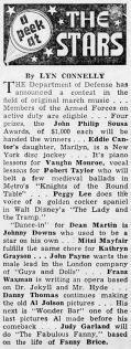 "Judy Garland as ""The Fabulous Fanny Brice"" April 24, 1953"