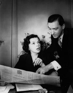 Judy Garland and Charles Davis April 5, 1951