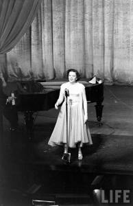 Judy Garland at the London Palladium April 9, 1951