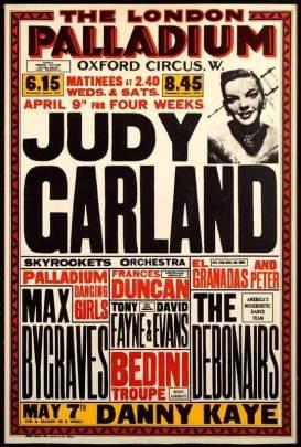 April 9, 1951 Palladium Poster