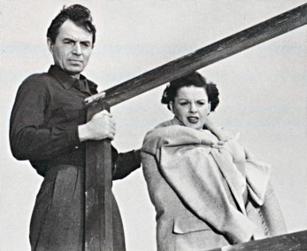 Judy Garland and James Mason in A Star Is Born