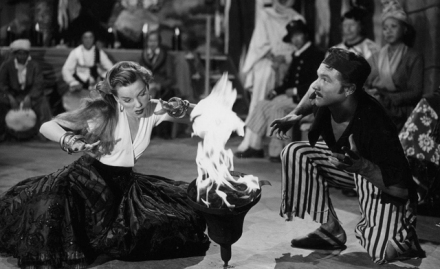 """Judy Garland and Gene Kelly in the deleted """"Voodoo"""" number from """"The Pirate"""""""