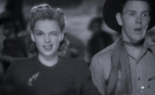 "Judy Garland sings ""Bidin' My Time"" in 1943's Girl Crazy"